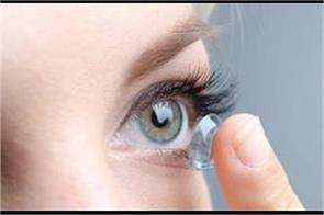 can the contact lenses cause of weak eyesight