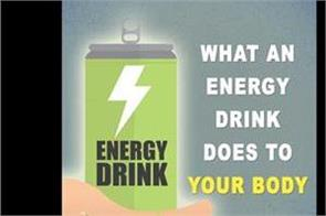 what an energy drink does to your body