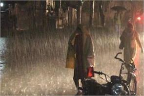 meteorological department issued heavy rain warning from 22 to 25 september