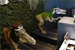 let these dinosaurs check you in at japan s  weird  hotel