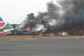 crash crashes in sudan 19 dead