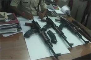 6 ak 47 recovered within 9 days