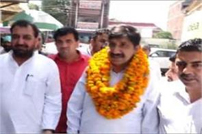 agnihotri arrived in una first time after becoming the leader of opposition