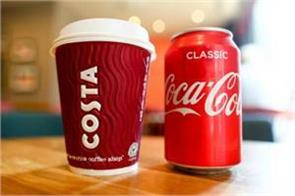 coca cola deal with costa coffee