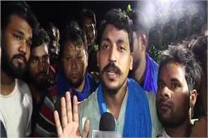 speaking immediately after being released from jail bhima army chief