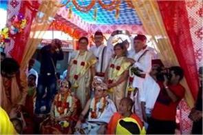 italian couple married with hindu customs
