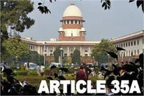 elected govt should argue on article 35 a said chief secretary