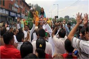 krishna janamashtmi celebrate in kashmir