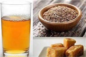 health benefits of jeera and jaggery water