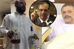 liquor bottles  recovered from hospital in sharjeel s room