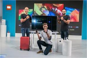 xiaomi launches 3 smart mi tvs with android os in india