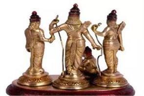 9 precious statues stolen of octal metal