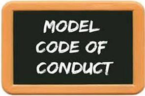 follow code of conduct in elections