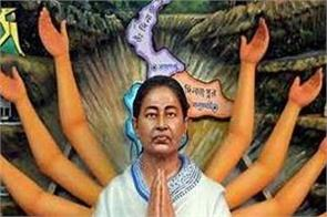 mamta banerjee present talent in durga pandal