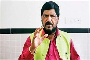 athawale apologizes on controversial statement of  focat oil