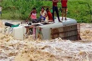 monsoon active torrential rain alert in north india s plains