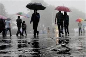 haryana weather alert continuation of rain for next 24 hours