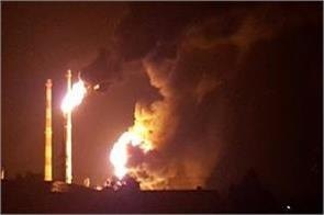 9 people injured in blast after burning fire at refinery in germany