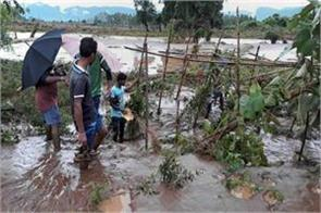 six lakh people affected by floods in three districts of odisha