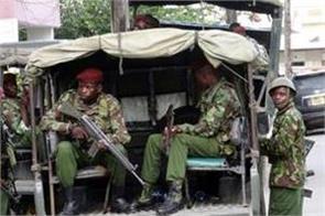 kenya roadside bomb blast killed 11 police officers