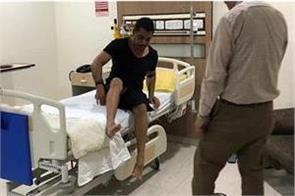 robert vadra admitted to metro hospital
