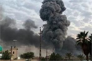 rocket attack on us army camp in baghdad