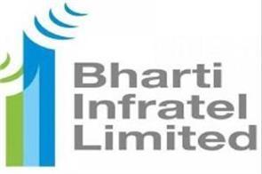 bharti infratel s second quarter profit up 61 percent at rs 964 crore