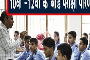 10th 12th board exam results improve directorate of education