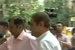 praful patel arrives at enforcement directorate office after being summoned