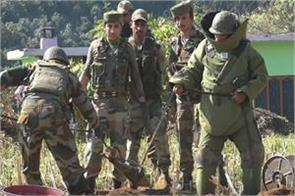 poonch alive evidence nefarious pak army destroys mortar shell