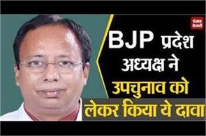 claim of bjp state president