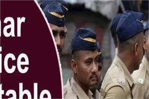 bihar police constable recruitment for 11880 posts salary of rs 69 100