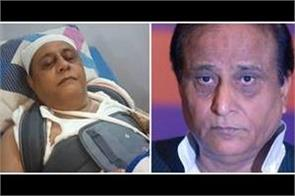 congress leader accused azam khan and his son of murderous