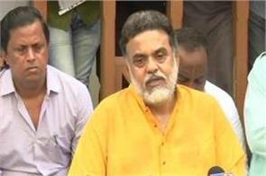 people associated with sonia gandhi conspiracy sanjay nirupam