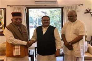 manohar lal khattar met nadda executive chairman
