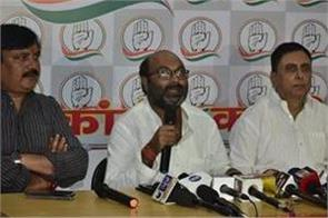 congress will contest alone and on its own in up by election lallu singh