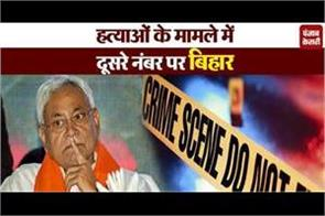 bihar had the highest number of murders after up