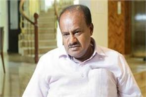 bjp government will not let karnataka fall kumaraswamy