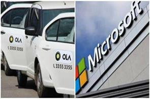 microsoft will invest 200 million dollar in ola