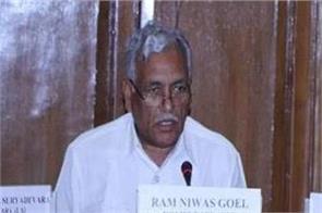 delhi assembly speaker ramnivas goyal jailed for 6 months