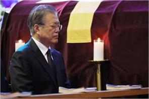 kim jong sends condolences to moon over mother s death