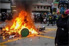 hong kong protesters flared after teenager s death in police firing