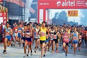 tomorrow delhi will run with 40 thousand runners