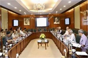 home minister amit shah reviews high level meeting with officials