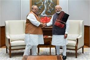 satyapal malik met pm modi after he was appointed governor of goa