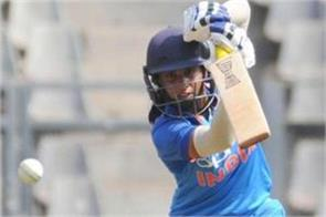 odi series indian women s team lead by beating south africa