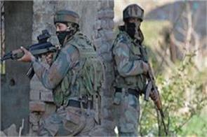security forces dead body terrorist during search operation