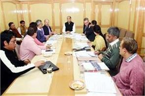 meeting in shimla