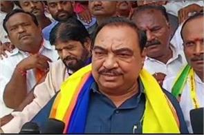 former minister eknath khadse filed an independent nomination from bjp