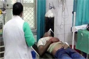 labourer injured